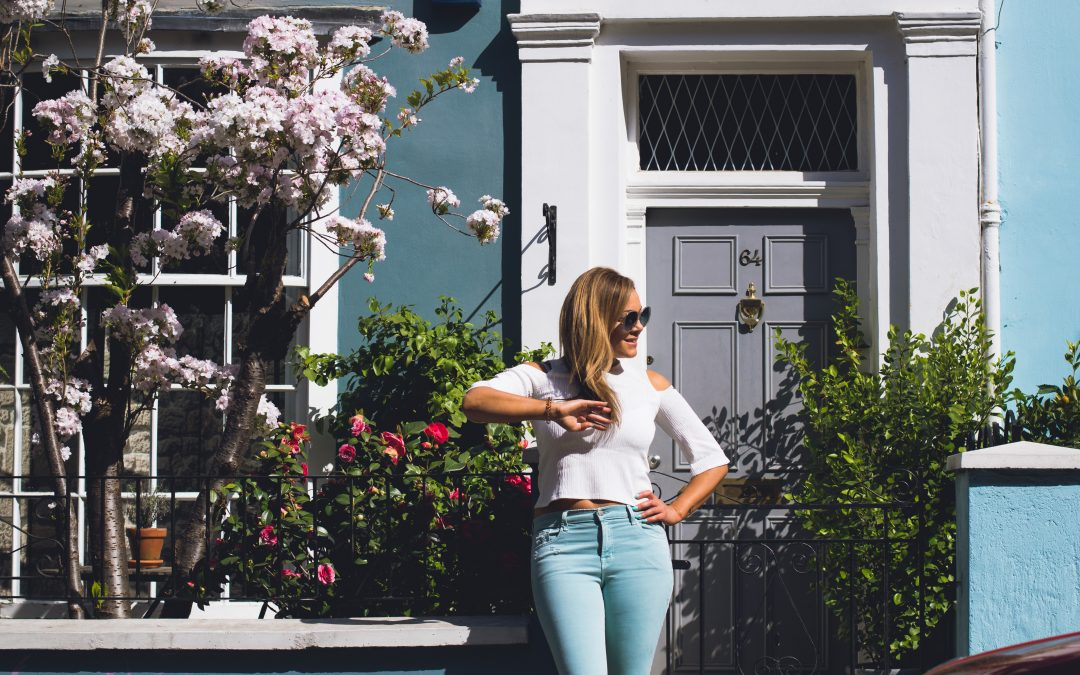 Pastel Jeans for Spring